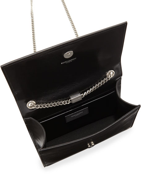 6771f8793436 Saint Laurent Monogram Kate Small Chain Shoulder Bag. Monogram Kate Small  Chain Shoulder Bag. Monogram Kate Small Chain Shoulder Bag