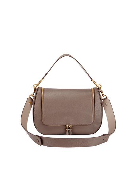 Vere Maxi Satchel Bag, Gray