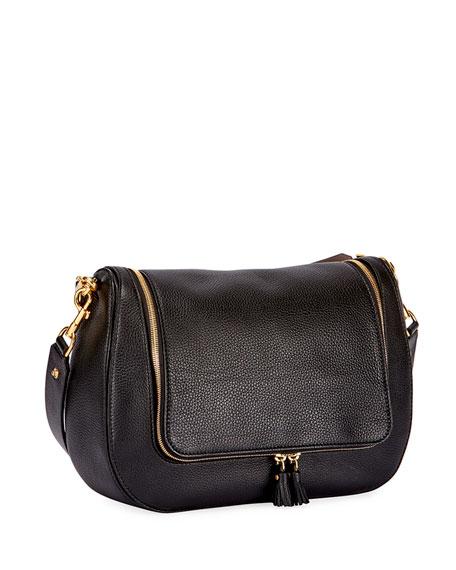 Vere Maxi Satchel Bag, Black