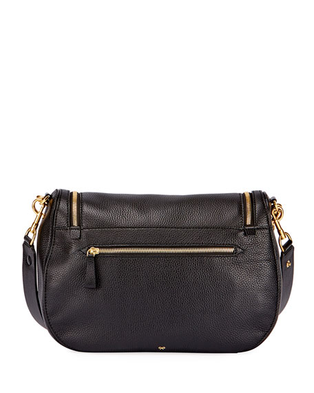 Vere Maxi Satchel Bag, Black