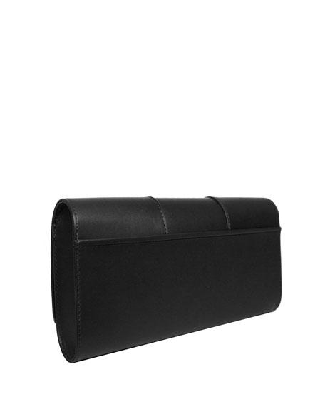 Le Rond Clutch Bag, Black