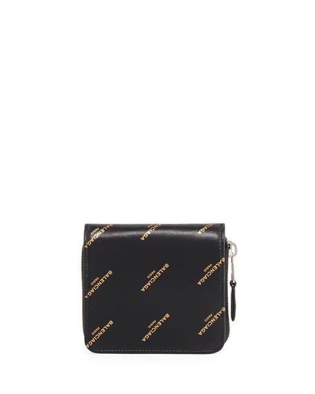 1425d3d125d57a Balenciaga Bazar Billfold Zip-Round Wallet