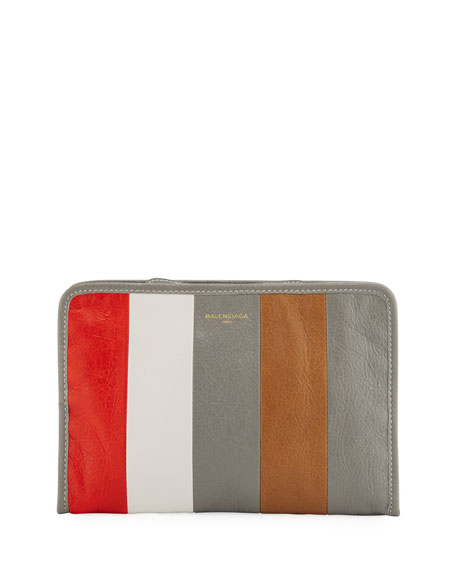 Bazar Striped Mini Pouch Bag