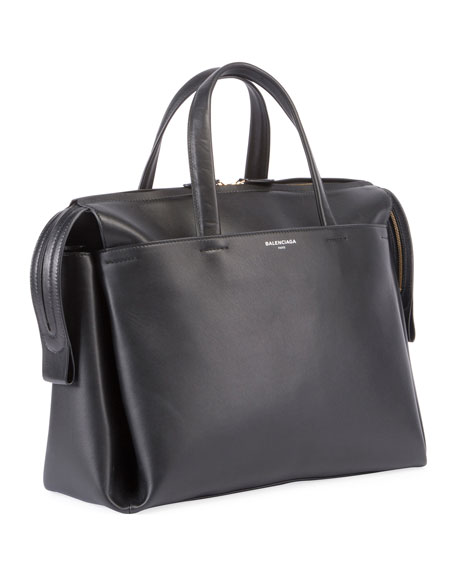 Portfolio Sac AJ Leather Bag, Black