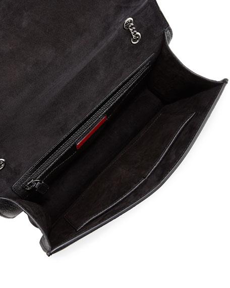 Demilune Small Leather Shoulder Bag