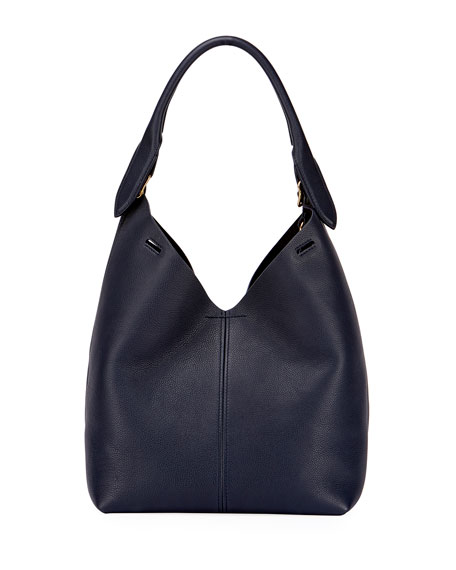 Anya Hindmarch The Bucket Small Circle Bag, Blue