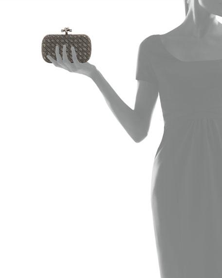 Crystal Knot Framed Clutch Bag