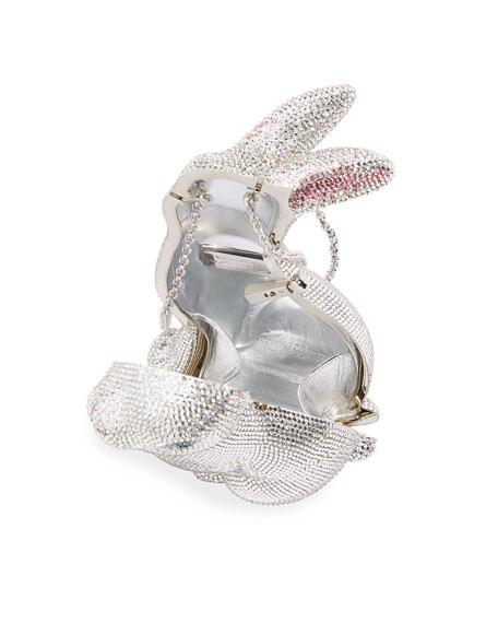 Ava Bunny Crystal Clutch Bag