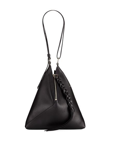 Braided Leather Shoulder Bag