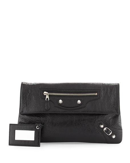 Balenciaga Giant 12 Lambskin Envelope Crossbody Bag