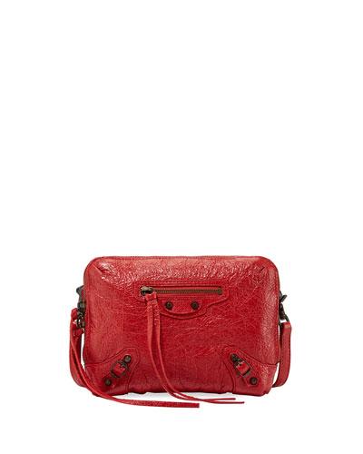 Classic Reporter XS Lamb Leather Crossbody Bag