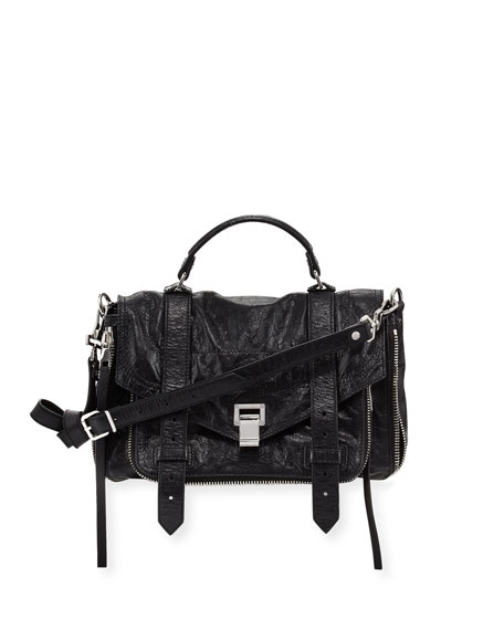 PS1+ Medium Leather Satchel Bag
