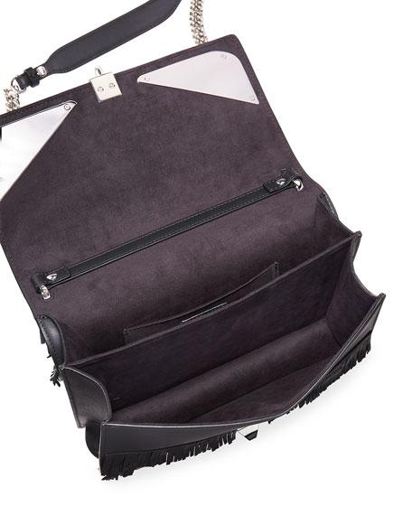 Kan I Fringe Monster Shoulder Bag