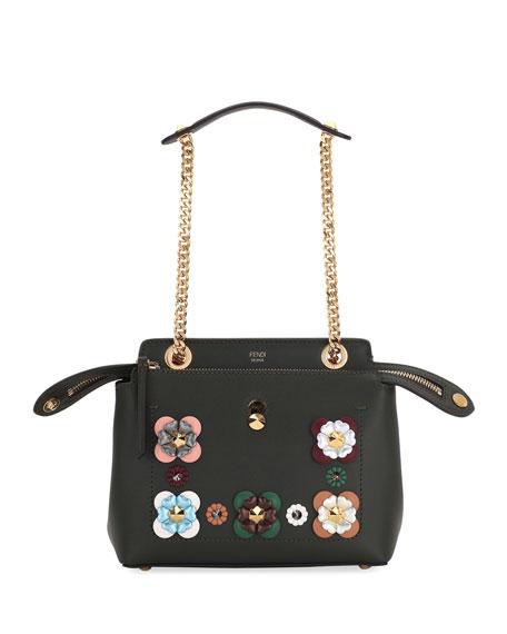 Dotcom Click Flower Chain Shoulder Bag