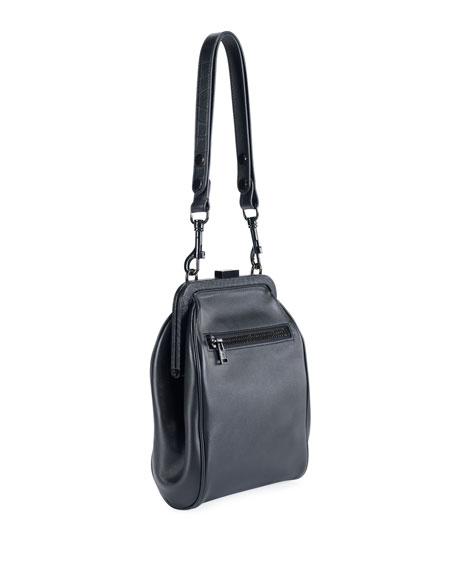 Large Pouch Crossbody Bag, Black
