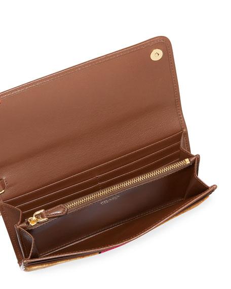 Trompe l'Oeil Trunk Chain Shoulder Bag