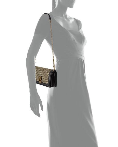 Olimpia Intrecciato Wool Clutch Bag