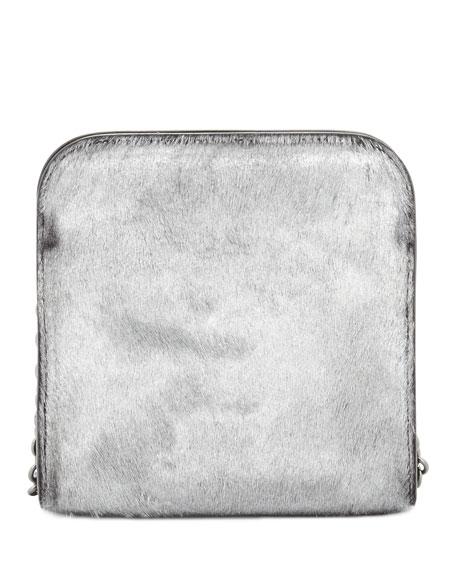 Metallic Calf Hair Day Bag