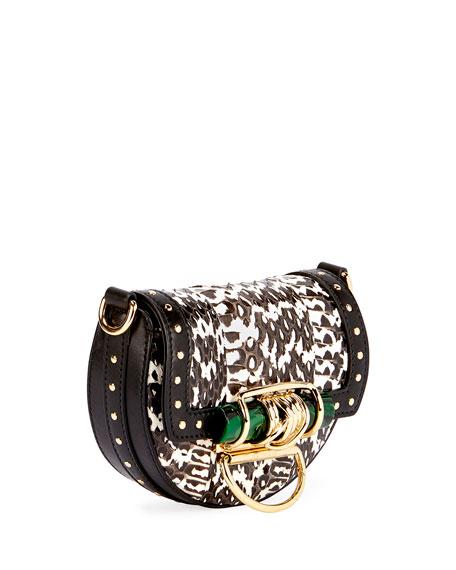 Watersnake Tassel Chain Shoulder Bag