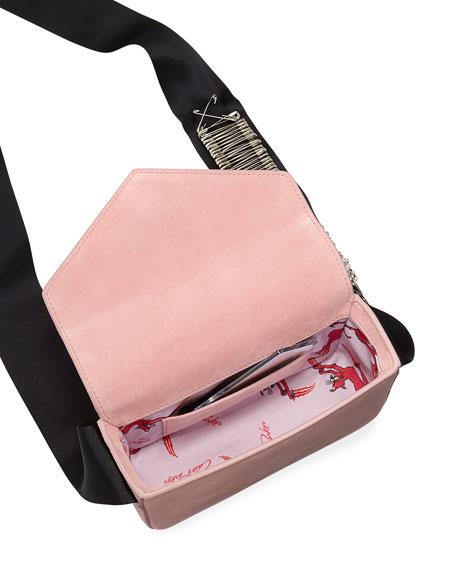 Melissa Pinned Suede Envelope Shoulder Bag