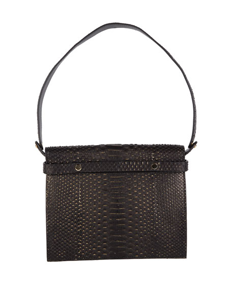 Candy Python Top-Handle Bag