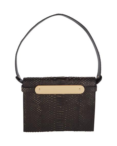 Candy Python Top-Handle Bag