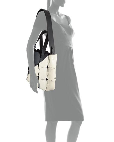 16#01 Patchwork Cabas Medium Tote Bag