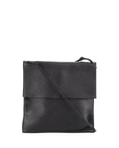 Medicine Pouch Large Leather  Shoulder Bag