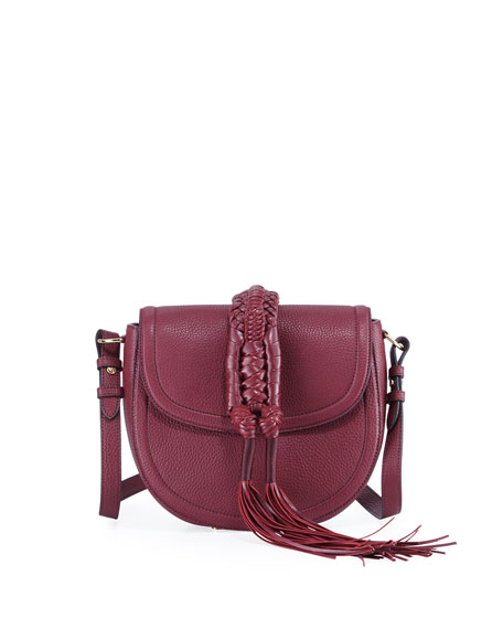 Altuzarra Ghianda Small Leather Saddle Knot Bag