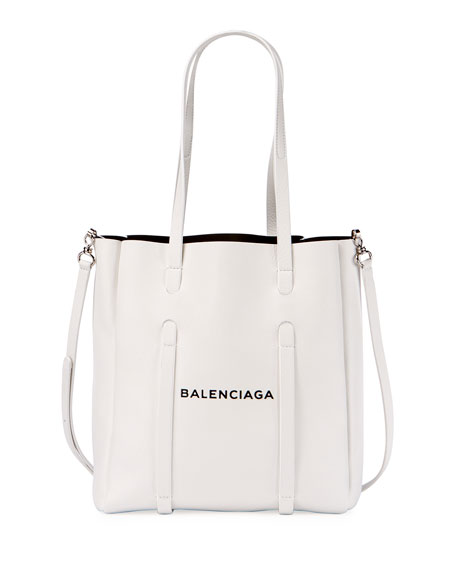 e2f200d865d8 Balenciaga Everyday Small Leather Logo Tote Bag
