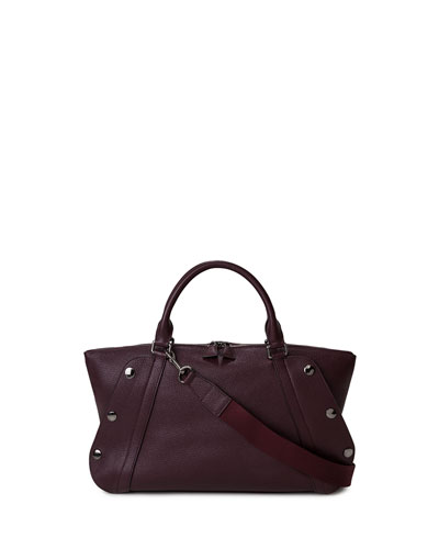 Aimee Small Calf Leather Satchel Bag