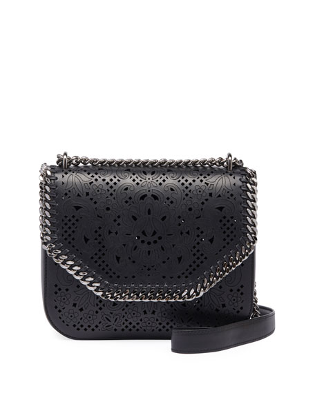Laser-Cut Falabella Box Bag
