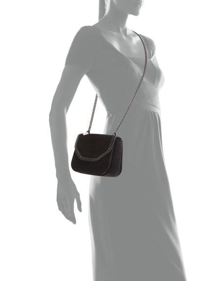 752af8ff8029 Mini Falabella Velvet Chain Shoulder Bag with Tonal Hardware
