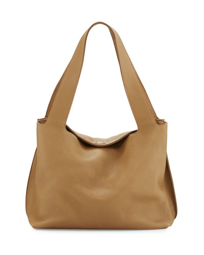 Duplex Calfskin Hobo Bag