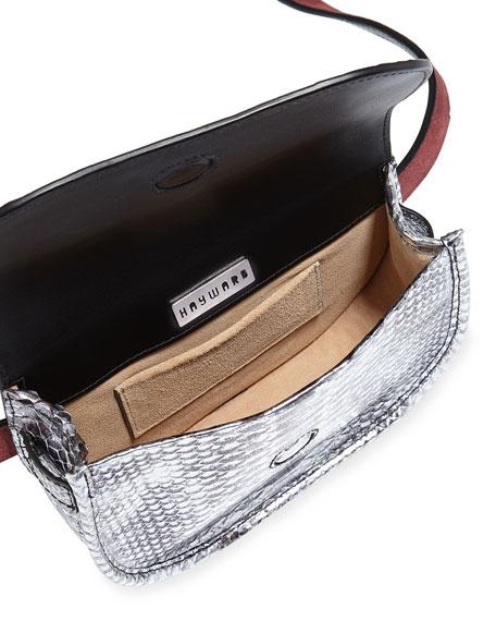 Benny Python Crossbody Bag