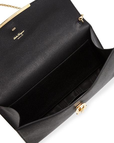 c99ae98abfeec Salvatore Ferragamo Gancini Icona Mini Bag