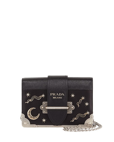 Cahier Small Stars Moon Trunk Crossbody Bag