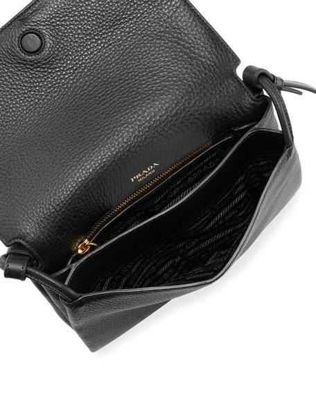 Vitello Daino Small Flap Bag
