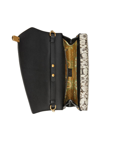 Ottilia Medium Insect Display Bamboo Top-Handle Bag