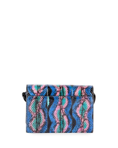 Kate Monogram Toy Snakeskin Wallet on a Strap