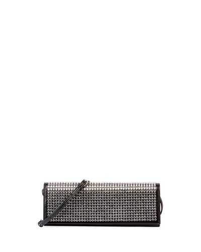 Fetiche Studded East-West Clutch Bag