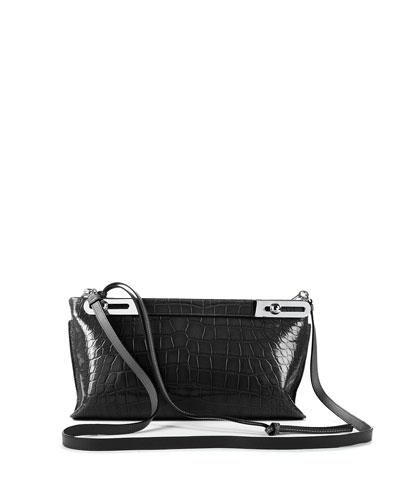 Missy Crocodile Shoulder Bag