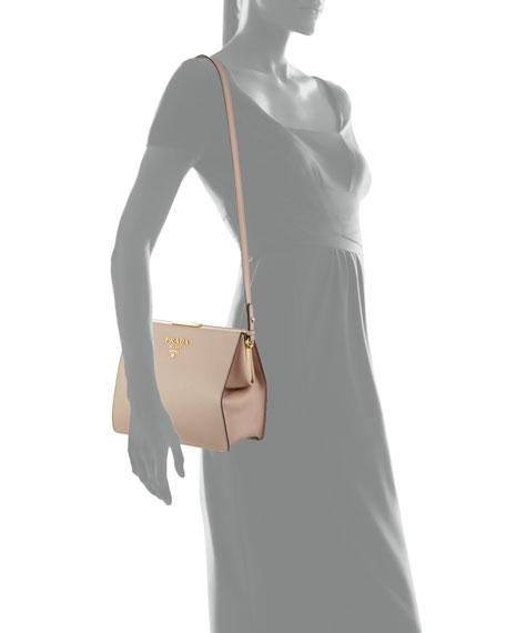 Large Saffiano Shoulder Bag