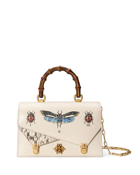 Small Linea Bug Top-Handle Bag