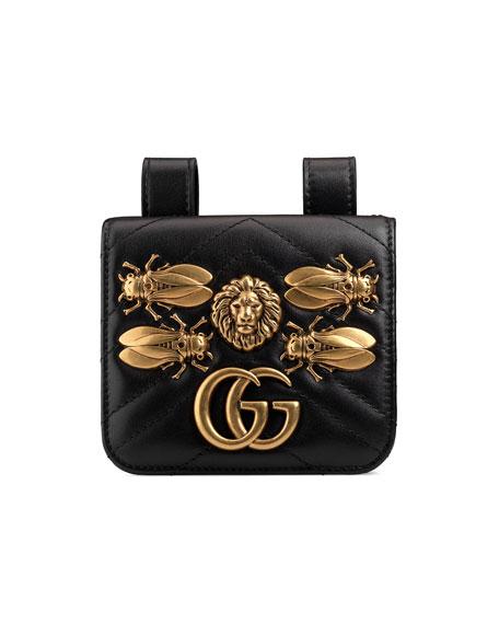af53c32ea Gucci GG Marmont 2.0 Bug Belt Bag