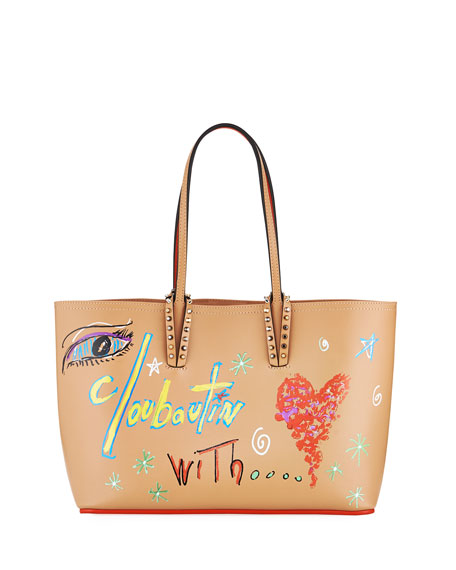 Cabata Small Calf Loubitag Paris Tote Bag