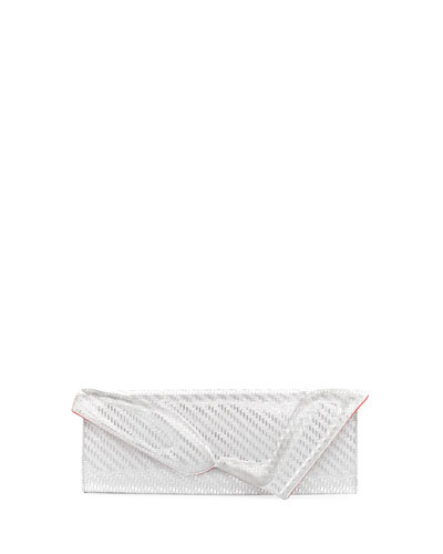 So Kate Glitter Baguette Clutch Bag