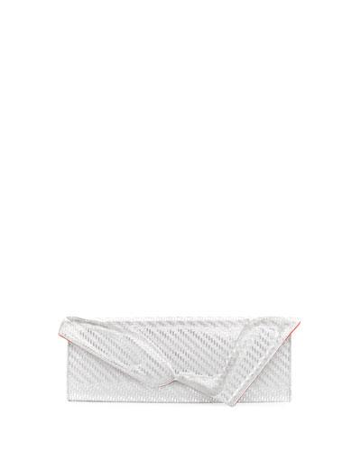 So Kate Glitter Baguette Clutch Bag