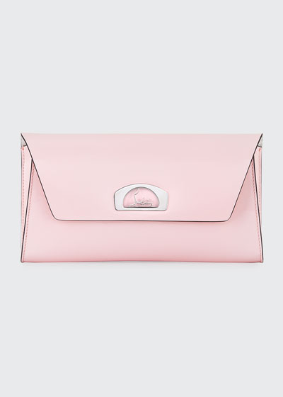 Vero Dodat Classic Leather Clutch Bag