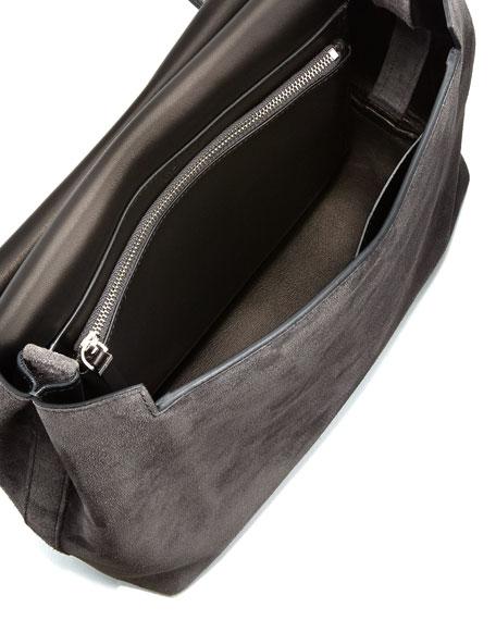 Sideby Suede Messenger Bag